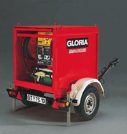 Unidade Móvel Extinção Pó Químico Seco 250 kg GLORIA PC250G