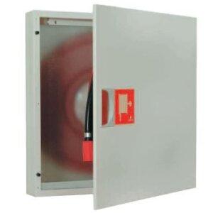 Carretel com Armário e Válvula Automática para Montagem Encastrada ou Saliente