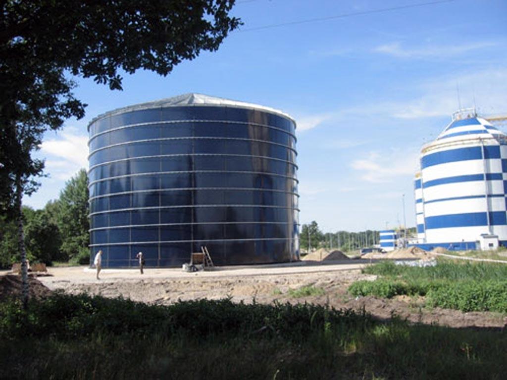 Reservatório Aço Galvanizado Revestido Vidro