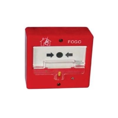 Botoneira Alarme Manual Convencional Puc-Ar