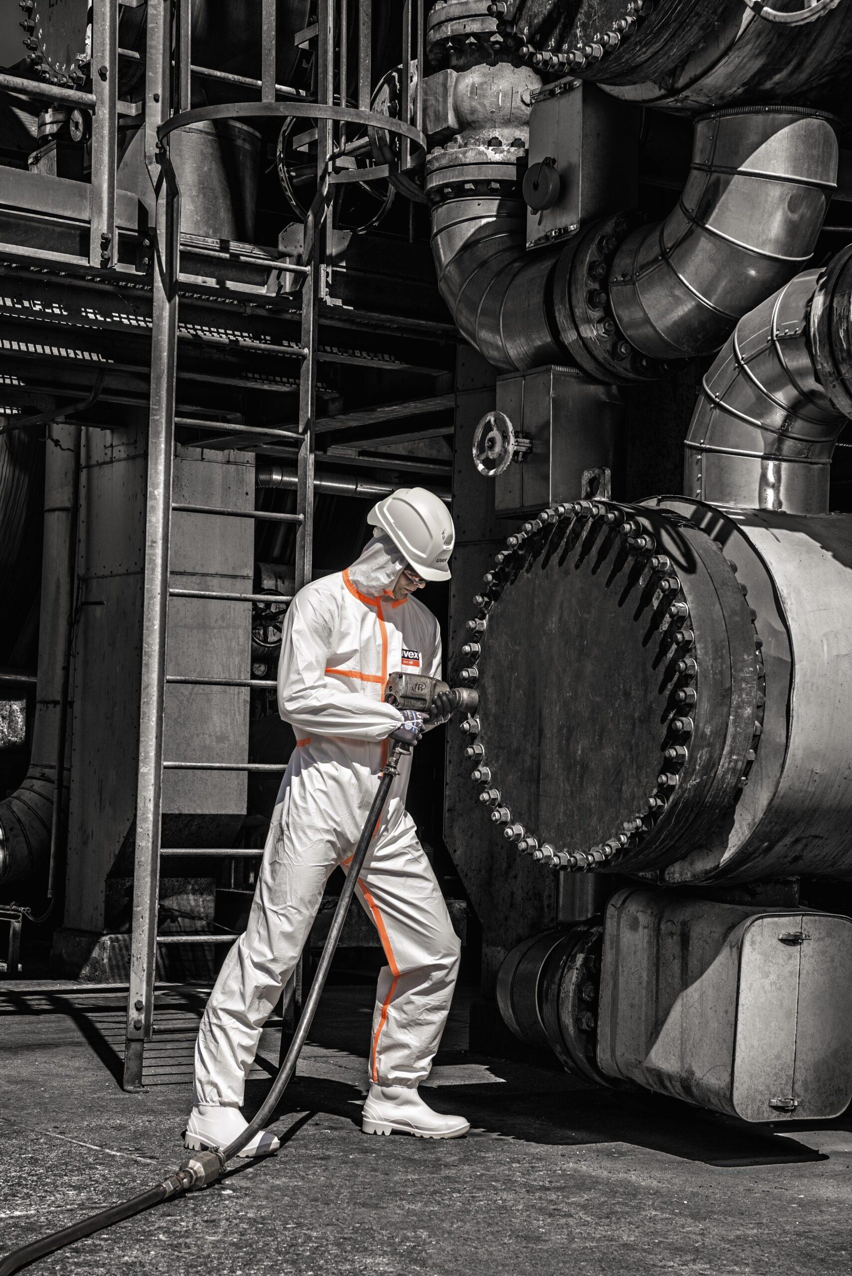 Fato Integral Proteção Química Tipo 4B uvex