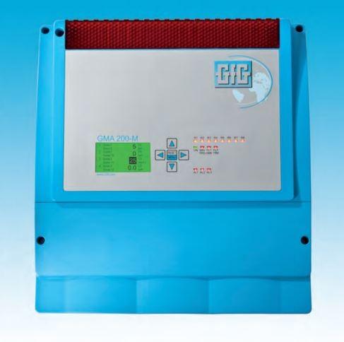 Controlador GMA200-MW para Deteção de Gases