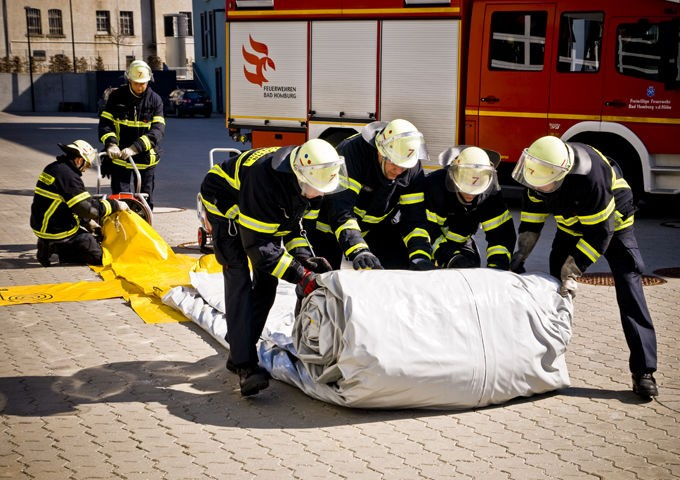 Tela Salto para Evacuação e Salvamento Vetter SP 60