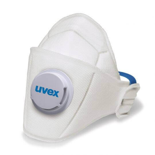 Semi-Máscara Uvex Silv-Air Premium Classe FFP1