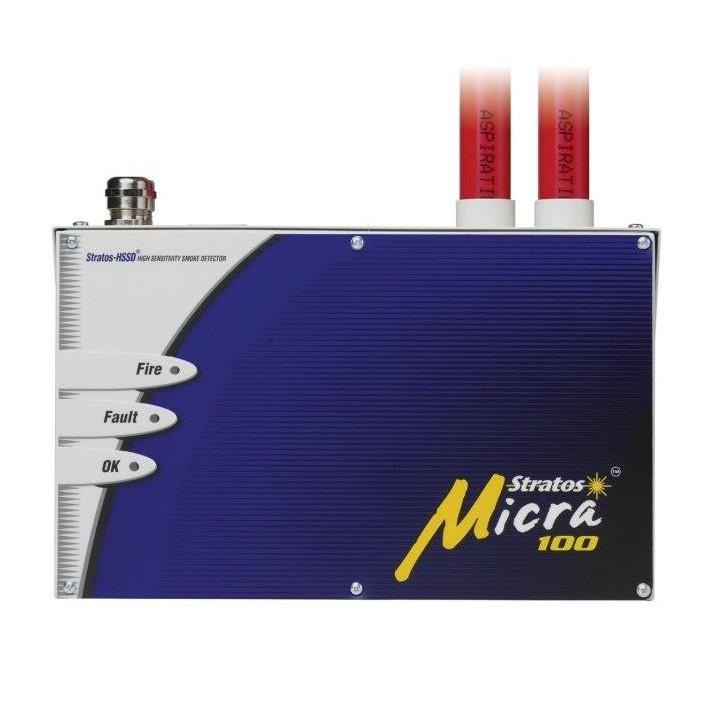 Detector Fumos por Aspiração Stratos Micra 100