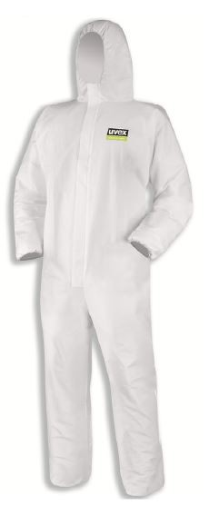 Fato Integral Proteção Química Tipo 5/6 Classic uvex